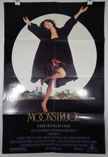 MOONSTRUCK - 1987 ORIGINAL MOVIE POSTER - CHER