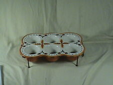 Temptation's Oven Ware Cup Cake Porcelain Dish With Rack