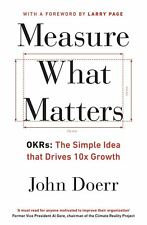 mesure What Matters: okrs : Le Simple Idea That clés 10x croissance par John