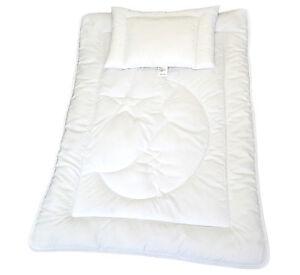 Kinderset Baby Set Bettdecke Steppbett + Kissen 100x135cm/40x60cm Mond ÖkoTex