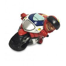 Petite statue métiers d'art Moto cycliste de la route Les Alpes cm 16,5x7