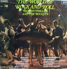 WARREN PHILLIPS and the  ROCKETS   World Of Rock And Roll LP Foghat Savoy Brown