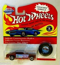 HOT WHEELS 1993 VINTAGE COLLECTION MONGOOSE CALIFORNIA CUSTOM MINIATURES BUTTON