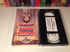 Making Venison Sausages Texas Country Style VHS '90 R Cinco Ranch Kitchen Recipe