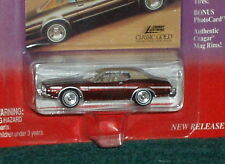 "JOHNNY LIGHTNING 1974 FORD TORINO ""CLASSIC GOLD"" w COLLECTOR CARD 1/64"