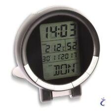 Funk Reisewecker - Digital Reise Wecker batteriebetrieben DCF-77 Funkwecker Uhr