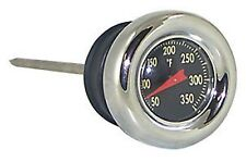 CHROME OIL PLUG TEMPERATURE GAUGE HARLEY DAVIDSON SOFTAIL 2000 & LATER DIP STICK