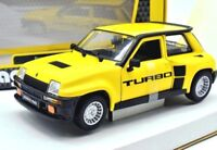 Model Car Renault 5 Turbo Burago Scale 1:24 Car Model diecast Rallye Coche