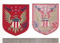 USMC RAIDER PATCH 6 PIECES  SET 2 OLDER TYPE /& 4  NEW TYPE