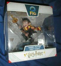 Harry Potter Q-Fig Vinyl Figure ~Potter on Broom First Flight (Pvc Mini Statue)