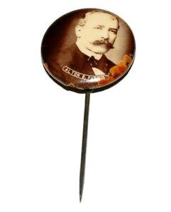 1904 ALTON PARKER STICKPIN campaign pinback button political badge presidential