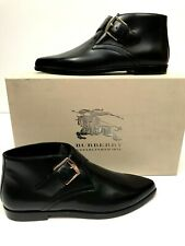 Burberry Womens Harlestone Boots Ankle Booties Leather EU 37 US 7 NEW $775