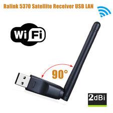 150Mbps 2dBi 90° WLAN USB Wireless WiFi Antenne Dongle Adapter für PC Laptop