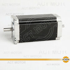 MOTORE ACT GmbH 1pc NEMA 23 Stepper Motor 23hs2430b 3a 112mm 2.8n.m DUAL shaft
