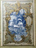 Scena Illustrata 15 Aprile 1894 Morselli Entartung Villa Fabbricotti di Firenze