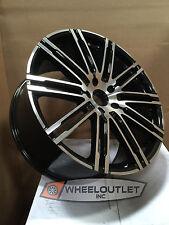 20 Rims Black Machined Wheels Snow Tires Fit Porsche Cayenne Turbo GTS Audi Q7