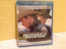 BROKEBACK MOUNTAIN BLU-RAY 2005 ROMANTIC DRAMA MOVIE JAKE GYLLENHAAL NEW