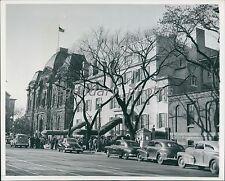 1950 Gun Battle at Blair House D.C. President Truman Original news Service Photo