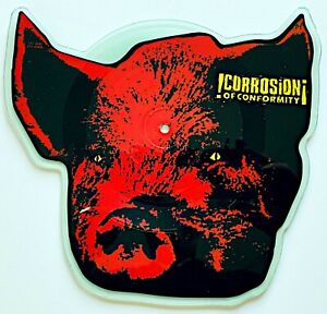 CORROSION OF CONFORMITY - KING OF THE ROTTEN - 1996 US RELEASE - VINYL, 7""