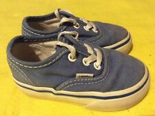 Kids boys girls vans trainers shoes size 4 infant