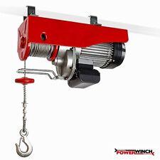 Elektrischer Seilzug 150 kg / 300kg 230V Kranwinde Seilhebezug Winde 600W