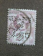 Great Britain GB UK 1887-1892  2 1/2d PERFIN EP&P Co Jubilee Issue NH Stamp