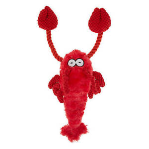 NEW TOP PAW - Large Knotted Rope LOBSTER Dog Toy! Adorable for the Holidays