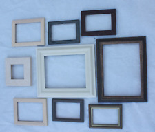 Joblot of collage picture photo frames mainly standard sizes x9