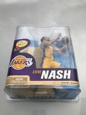 STEVE NASH McFARLANE ACTION FIGURE NBA SERIES 22 LAKERS YELLOW JERSEY SEALED
