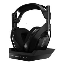 ASTRO Over-Ear Wireless Gaming Headset A50 Gen 4 for PlayStation 4 and PC Black