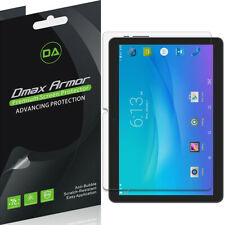 [3-Pack] Dmax Armor Clear Screen Protector for Onn 10.1 inch Tablet/ Tablet Pro