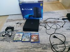 Sony PlayStation 4 Pro - 1TB Spielekonsole - Ps4 Pro wie neu mit 2 Controllern