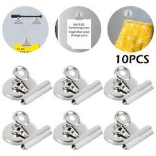10Pcs Fridge Magnetic Clips Magnet Refrigerator Holder Meno Note Message Clip