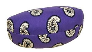 Vera Bradley Clamshell Hard Sunglass Case in Simply Violet
