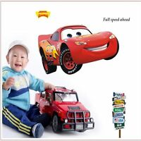XLarge Cars Movie MCQUEEN Wall Stickers Kids Boys Bedroom Decal