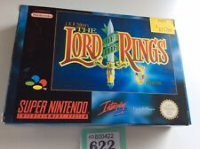 snes super nintendo The Lord Of The Rings