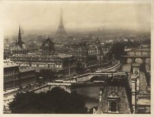 Panorama de Paris Photo Lader Vintage argentique vers 1930