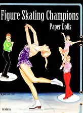 Figure Skating Champions Paper Dolls by John Axe Collectible book 1996 uncut