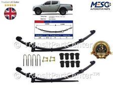 2 x O.E.Qualità Molla Lamina Posteriore 4+1=5 Kit Completo Mitsubishi L200