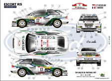 FFSMC Productions Calcomanías 1/24 Ford Escord RS Cosworth WRC Richelmi Portugal