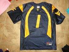 Boys Nike WV West Virginia #1 Football Jersey Size 8-10