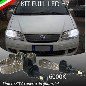 KIT LAMPADE ANABBAGLIANTI LED FIAT MULTIPLA LAMPADE LED H7 6000K NO ERROR