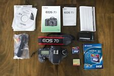 Canon EOS 7D 18.0MP Digital SLR Camera (Body Only with 64GB Compact Flash Card)