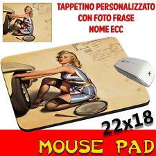 Tappetino Mouse Pad Vintage Pin Up Sexy personalizzato con foto,logo..