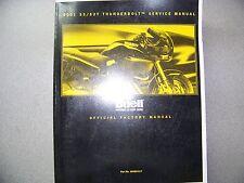 2001 BUELLS3/S3T THUNDERBOLT MODELS SERVICE MANUAL