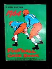 Vintage 1964 FOOTBALL RULES CASE BOOK BOOKLET Complete Official