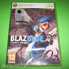 BLAZ BLUE CALAMITY TRIGGER NUEVO PRECINTADO PAL ESPAÑA XBOX 360