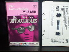 THE UNTOUCHABLES WILD CHILD - ULTRA RARE CASSETTE TAPE NM