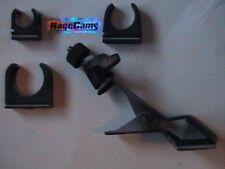 "1/4""-20 CLAMP ON PINCH PAN TILT MOUNT 28-32mm Saddle Clip Tube Camera Mount Kit"