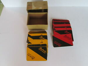 2 x sets Raybestos playing cards.Clutch manufactures.Automobilia.